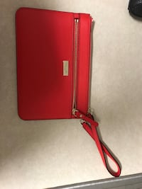 red and black leather crossbody bag Fayetteville, 72704
