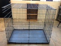 "XX-Large dog cage 53""L x 34""W x 44.5""H. Excellent condition!"