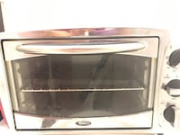 silver toaster oven