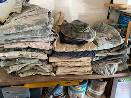 Military Clothing 35 pieces