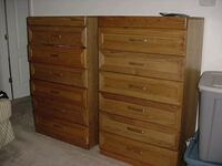 brown wooden 5-drawer chest Arlington, 22204