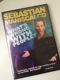 Sebastian Maniscalco DVD new sealed comedy