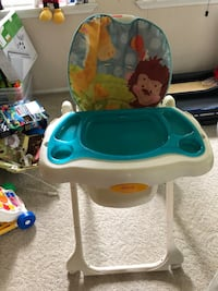 Baby's white and blue high chair Woodbridge, 22193