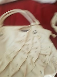 beige leather tote bag San Bernardino, 92410