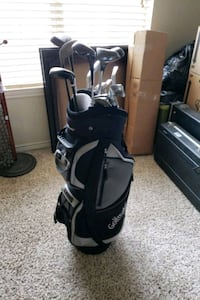 Golfmate Bag w/ Old Clubs Included! Houston, 77064