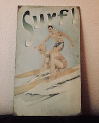 Vintage style Surf picture  San Diego, 92109