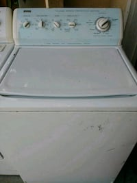 white top-load clothes washer 2379 mi
