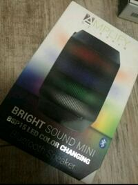 black Amplify by Aduro bright sound LED color changing Bluetooth speaker box Las Vegas, 89121
