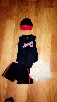 Sleeveless Micheal Jordan Jersey w matching hat and 2 pairs of shorts Easley, 29642