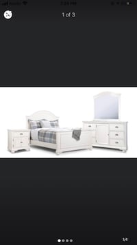 DOUBLE BED BEDROOM SET