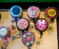 Blingged Out ID of badge reels Albuquerque, 87105