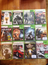 Various XBox 360 and Wii games Georgetown, L7G 4Y9
