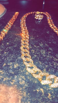 Cuban link Chain,ring and bracelet Whitchurch-Stouffville, L4A 0Y6