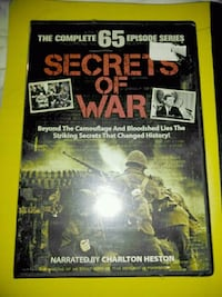 Secrets of War- all 65 Episodes (New/Never Opened)