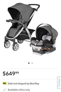 Chicco Bravo Standard Stroller with KeyFit 30 Infant Car Seat  Whitchurch-Stouffville, L4A 0X8