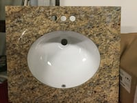 "25"" Saint Celia granite counter with sink- Brand new Melbourne"
