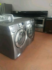 SAMSUNG WASHER AND DRYER SET STEAM CYCLES FRONTLOA Lawrenceville, 30044