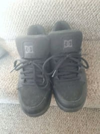 pair of black dc  shoes Abbotsford, V2S 1R2