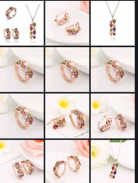 assorted pairs of earrings collage Surrey, V3X 1P3