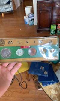 Mexican coin set from 1967 Purcellville, 20132