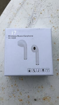 white i7 wireless music earphone box Louisville, 40258