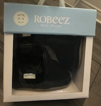 Robeez Cozy Baby Ankle Boots Black Soft Soles (0-3mo) Mississauga