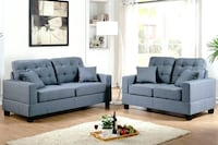 New Couch Sofa Set. Navy. Free Delivery ! Culver City