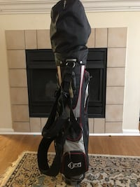 black and gray golf bag Fairfax, 22030