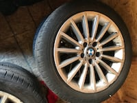 "18"" Tires (BMW TIRE AND RIMS) Brampton, L6P 2R9"