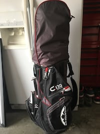 Bag, Irons, Driver, 5 Wood and putter!!