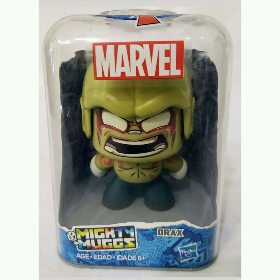 NEW: Drax 19 Mighty Muggs Marvel Action Figure - M