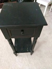 square black wooden side table Lexington, 29072