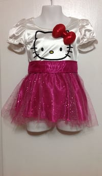 Hello kitty dress: size 1-2 yr old. (Brand new never worn)