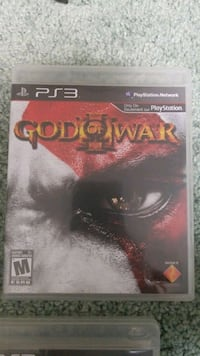God of War 3 (III) PS3 Game Mississauga, L5M 6E5