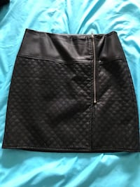 Faux leather skirt size M