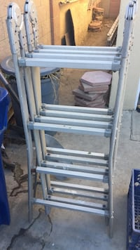 Aluminum folding ladder $25 today ONLY!!!!!