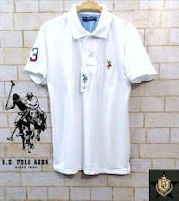 white and black polo shirt Ahmedabad