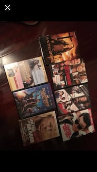 assorted DVD movie case collection screenshot