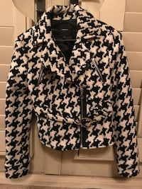 Black and white jacket from Express  Lubbock, 79424