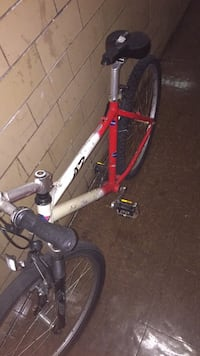 Red and white bmx bike New York, 11223