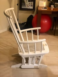 White Dutailier Rocking Chair  Seattle, 98109