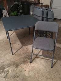 Card table, 4 chairs Warsaw, 46580