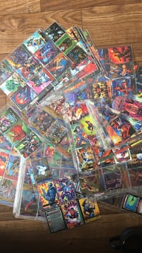 Trading card collection