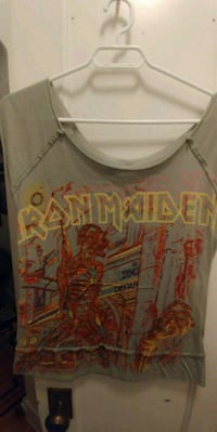 Iron Maiden T-shirt, Women's Size Medium