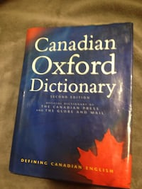 Canadian oxford dictionary Barrie, L4N 3L3