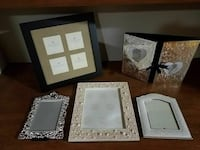 Set of 5 Wedding Picture Frames  Union, 63084