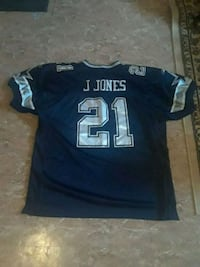 black and white NFL jersey