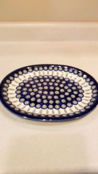 Decorative Platter with matching bowl Worcester, 01602