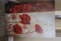 Large poppy painting 31.5x48 $60 small $15 Elk Grove, 95624