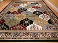 brown, white, and red floral area rug Silver Spring, 20902